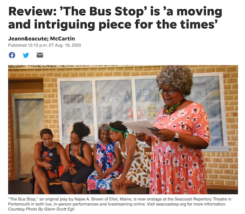 Review: 'The Bus Stop' is 'a moving and intriguing piece for the times'
